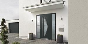 Устройство входной алюминиевой двери для дома