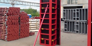 Опалубка колонн: преимущества аренды оборудования
